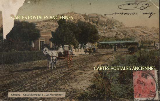 Cartes Postales Anciennes Monde Argentine Tandil