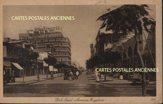 Cartes Postales Anciennes Monde Égypte