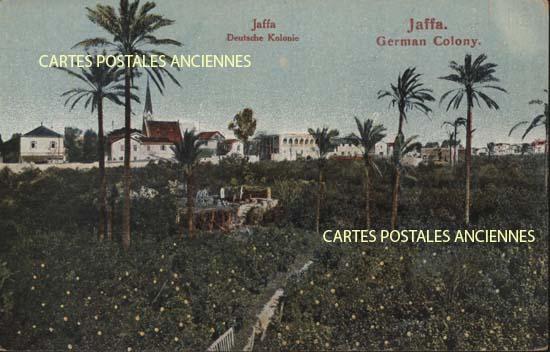 Cartes Postales Anciennes France Monde Israël Jaffa