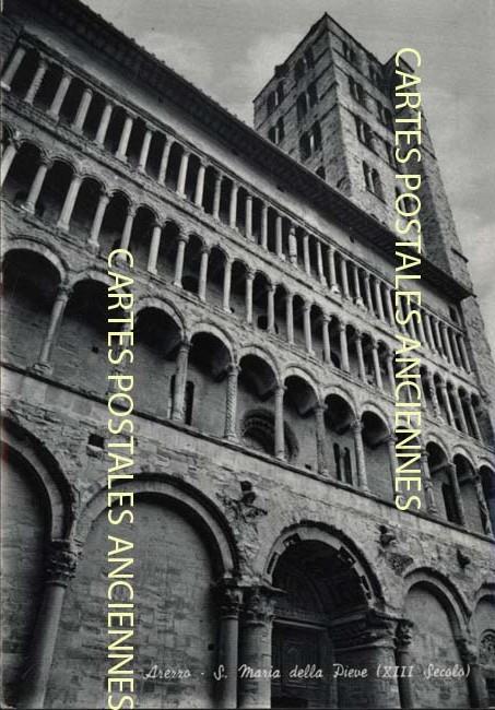 Old postcards italy Arezzo