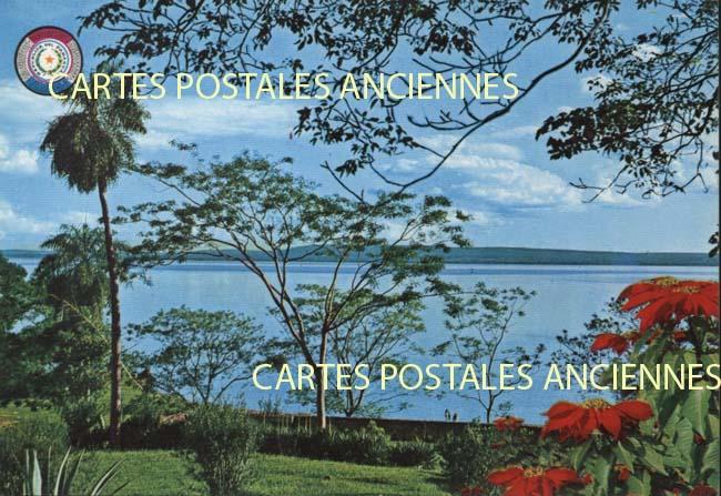 Cartes Postales Anciennes France Monde Paraguay