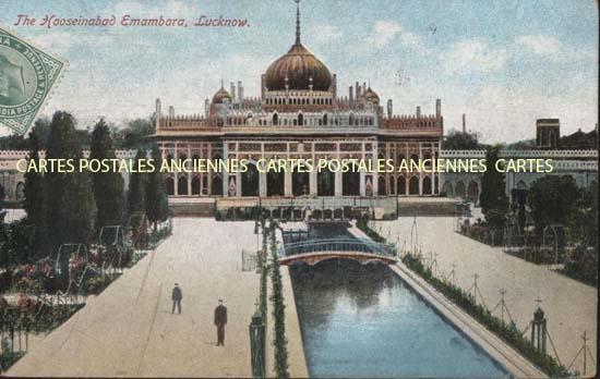 Cartes Postales Anciennes Monde Inde Lucknow