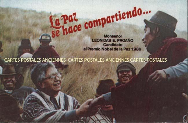 Cartes Postales Anciennes Monde Équateur