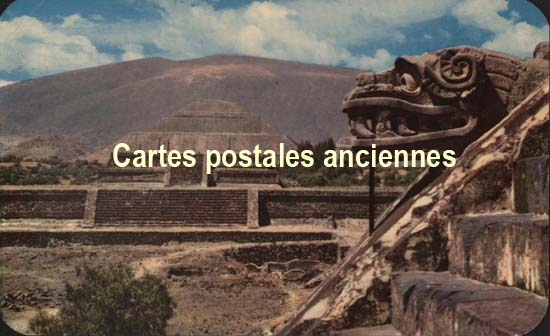 Old postcards world Mexico Mexico