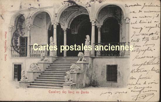 Autres collections  philatélie  timbres Marques postales  Tunisie Année 1900