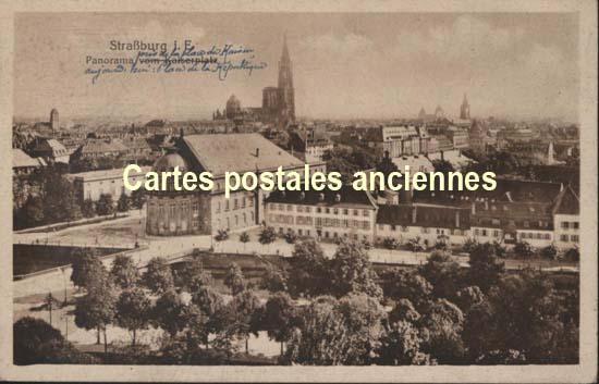 Cartes Postales Anciennes  Strasbourg