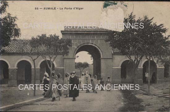 Cartes Postales Anciennes France Monde Algerie Aumale
