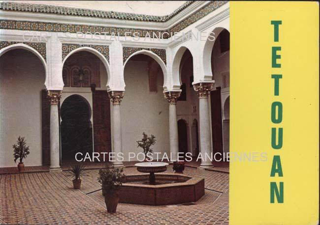 Cartes Postales Anciennes France Monde Maroc Tétouan