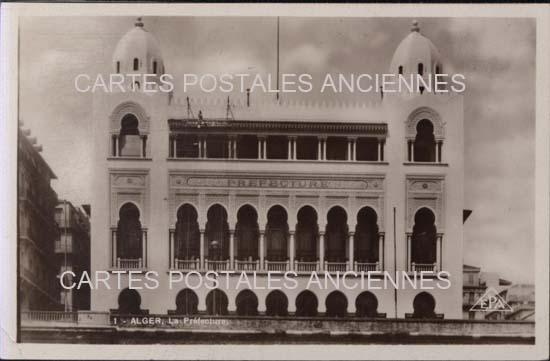 Cartes Postales Anciennes France Monde Algerie Hussein dey