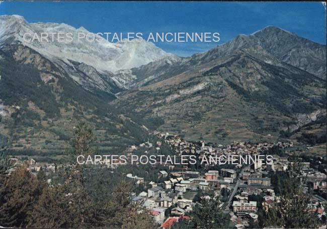 Old postcards italy Bardonecchia