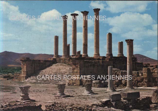 Old postcards world Tunisia El fahs