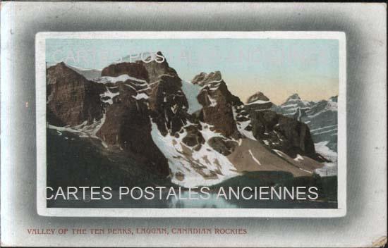 Cartes Postales Anciennes France Monde Canada Banff