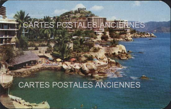 Cartes Postales Anciennes Monde Mexique Acapulco