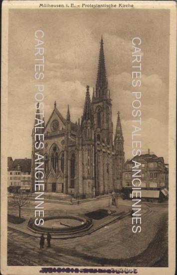 Cartes Postales Anciennes France Bas rhin  Mulhausen