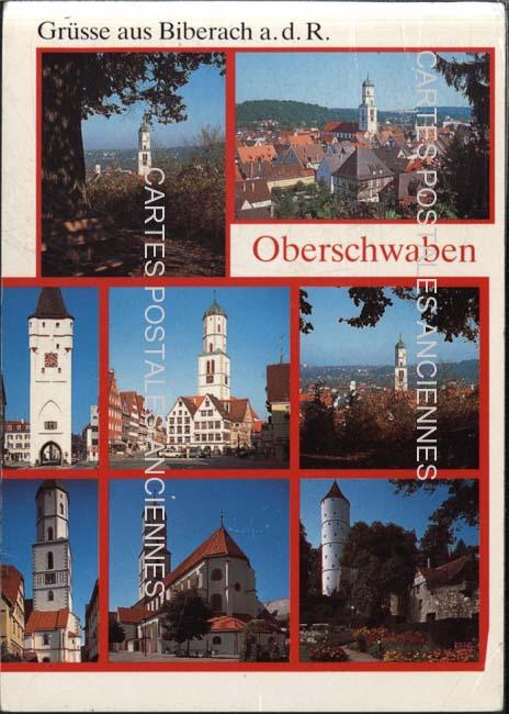Old postcards germany Biberach