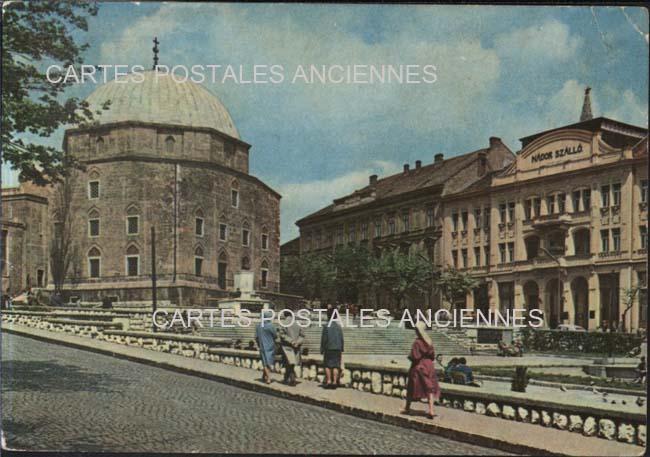 Old postcards hungary Pecs