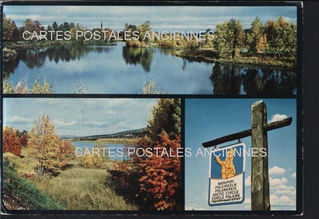 Old european union postcards Finland