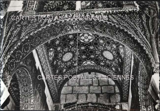 Old postcards world Syria Damas