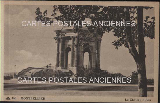 Cartes Postales Anciennes  Vers Pont Du Gard