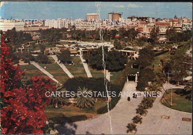Old postcards world Kuwait Koweït city