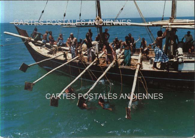 Cartes Postales Anciennes France Monde île de bahreïn