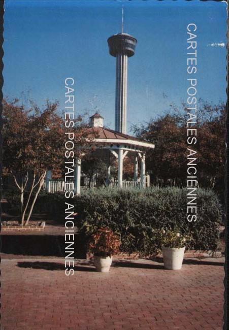 Monde Old postcards united states Texas San antonio