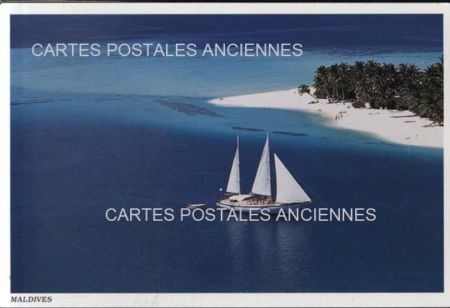Cartes Postales Anciennes France Monde Maldives