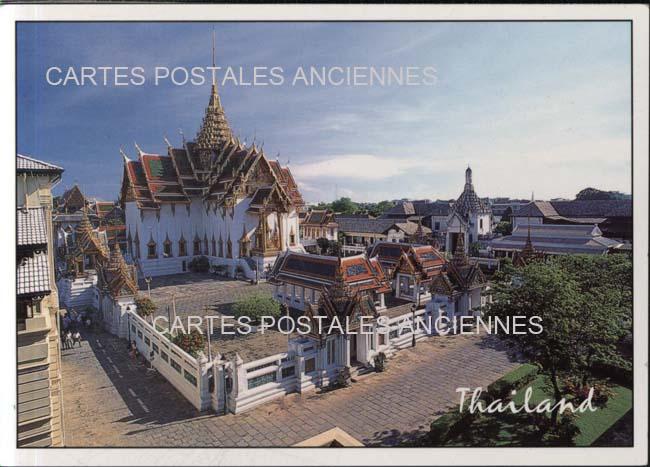 Old postcards world Thailand Bangkok