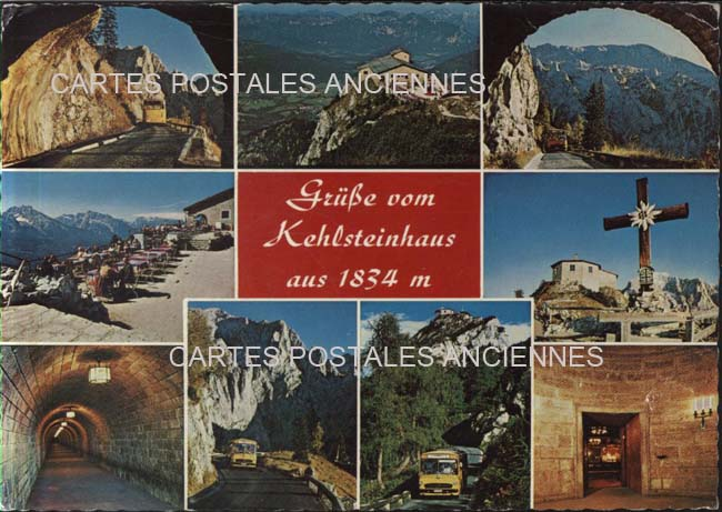 Old postcards germany Berchtesgaden