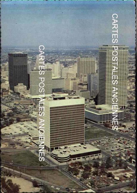 Old postcards world United states Texas Houston