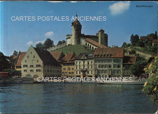 Cartes Postales Anciennes Suisse Schaffhausen