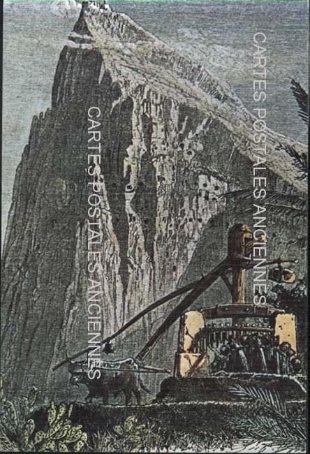Cartes Postales Anciennes Monde Gibraltar