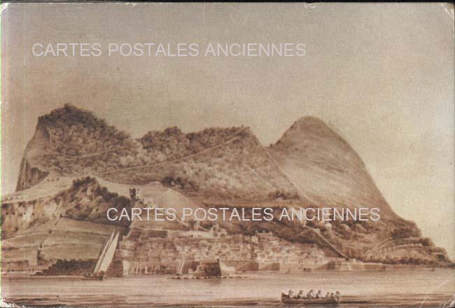 Cartes Postales Anciennes France Monde Gibraltar