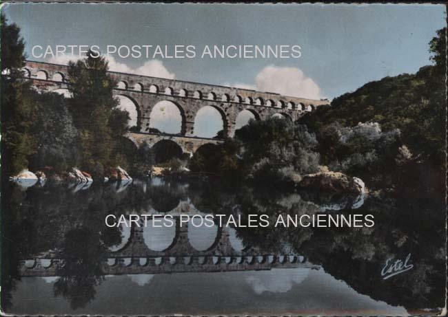 Gard Vers Pont Du Gard