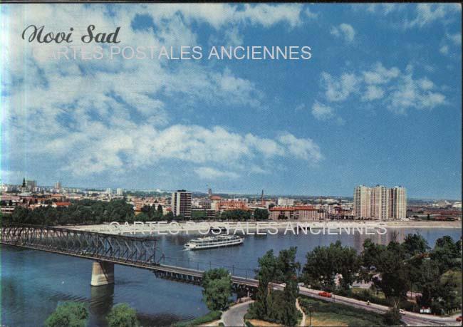Old postcards yugoslav republic