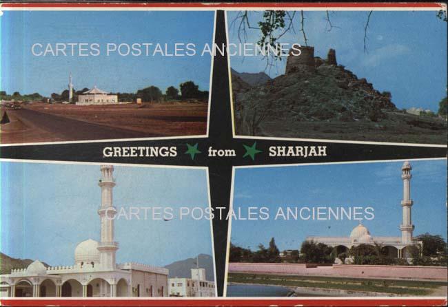 Cartes Postales Anciennes Monde Émirats arabes unis Sharjah