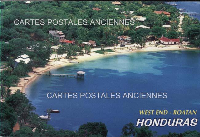 Cartes Postales Anciennes Monde Honduras