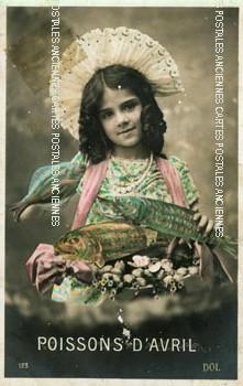 Cartes postales anciennes personnages fantaisie Petite dimension
