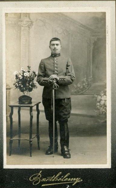 Old postcards military, army soldier