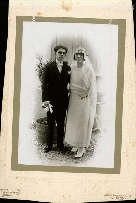Old photos Mariage