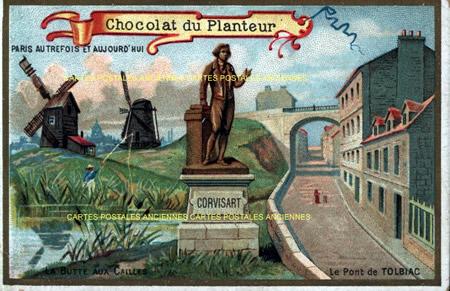Postcards advertising Publicite societe
