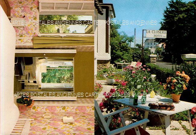 Postcards advertising