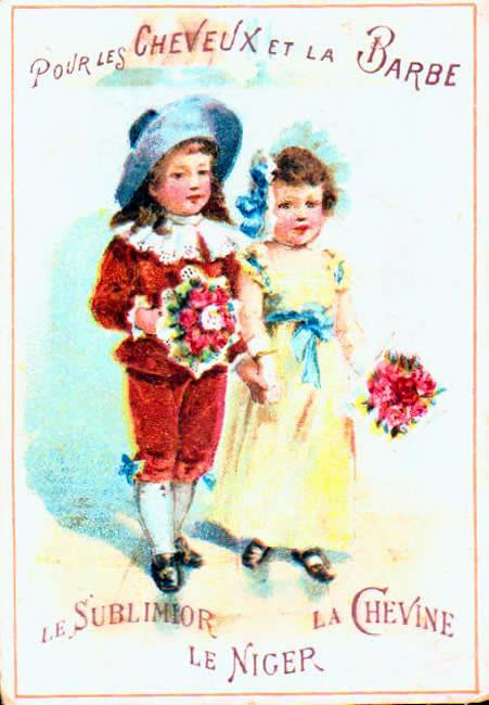 Postcards advertising Foire