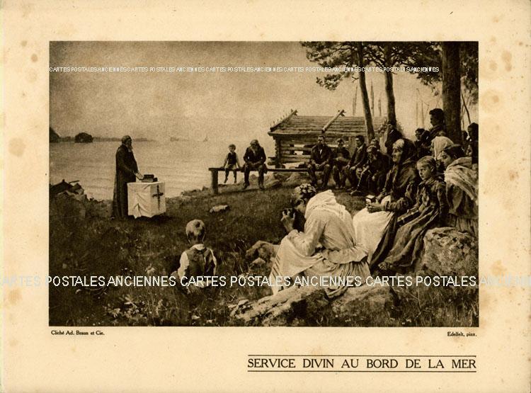 Postcards religion image Divers