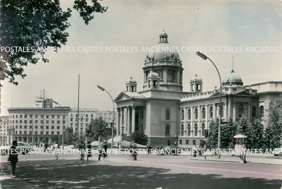Old postcards serbia