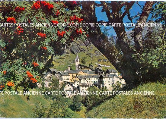Cartes Postales Anciennes Suisse
