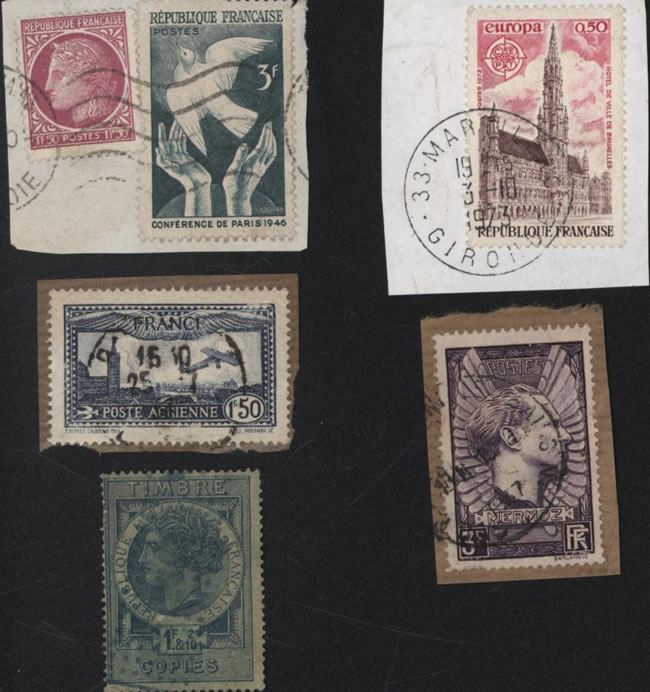 Timbres postes Selling stamps