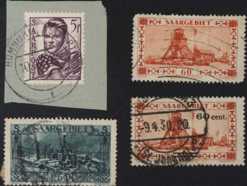 Timbres postes Selling stamps Sarr