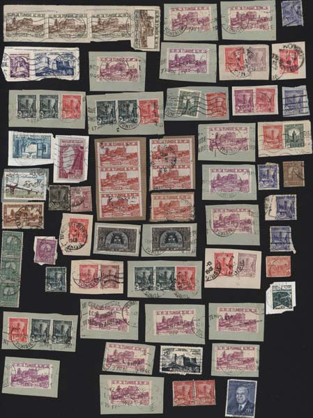 Stamps postals france Postage stamps collection Selling stamps Tunisie