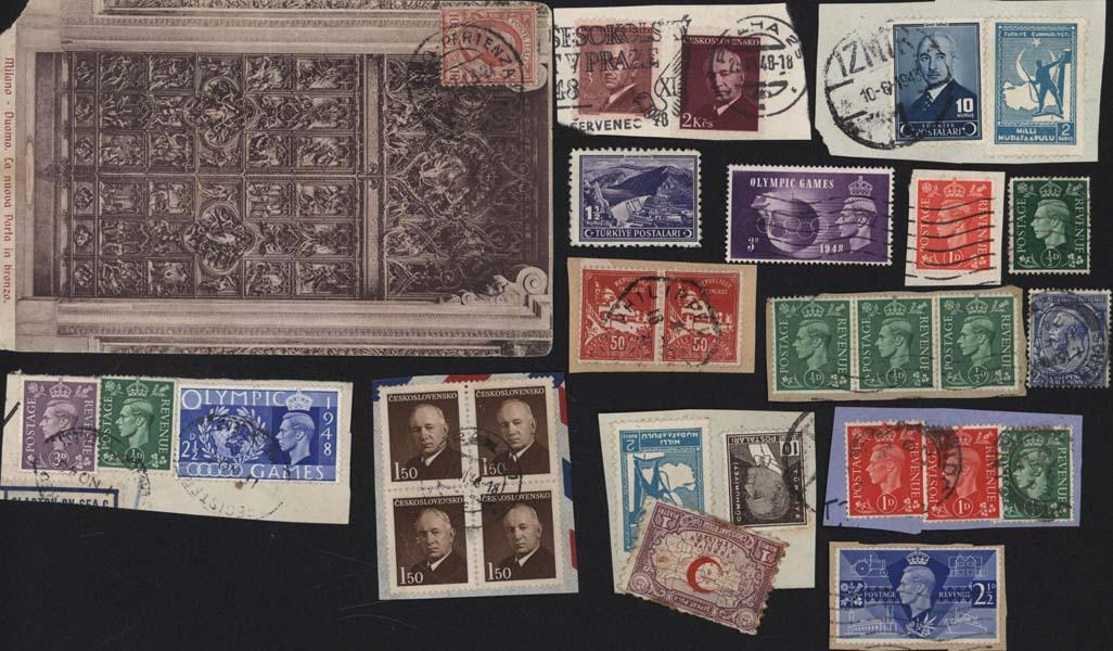 Autres collections  philatélie Stamps postals france Postage stamps collection Selling stamps Monde divers